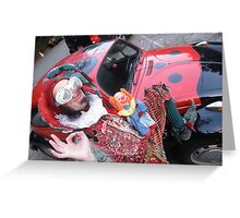 Court Jester & His Beetle Greeting Card