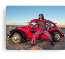 Rocker in the Desert Canvas Print