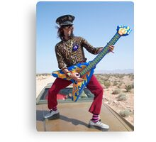 Air Guitarist Canvas Print
