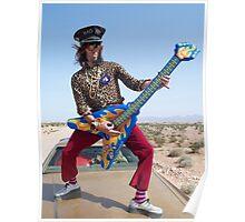 Air Guitarist Poster