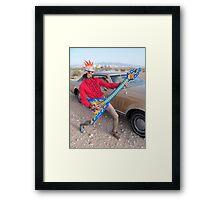 Punk Rocker Framed Print