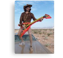 Leopard Rocker Canvas Print
