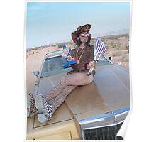 Leopard Juggler Poster