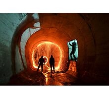 Drain Junkies.. Photographic Print