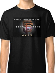 SF Giants World Series Champs X 3 MOS Classic T-Shirt
