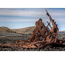 S.S. Speke Ship Wreck Photographic Print