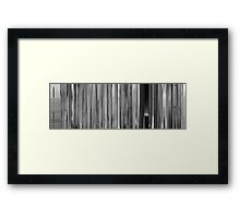 Moviebarcode: Paperman (2012) Framed Print