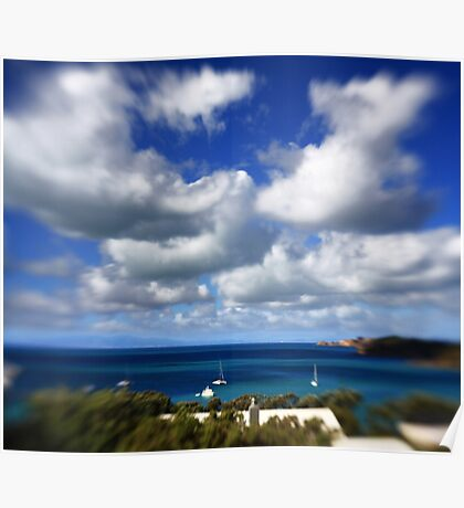 Clouds Over Waiheke Island Poster