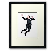 Jumpin' Jimmy Framed Print