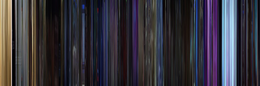 Moviebarcode: Star Trek V: The Final Frontier (1989) by moviebarcode