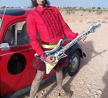 Punk Air Guitarist by jollykangaroo