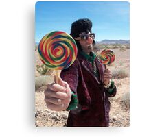 Lollipop Rocker Canvas Print