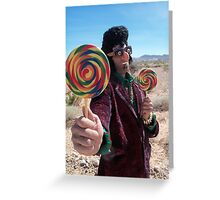 Lollipop Rocker Greeting Card
