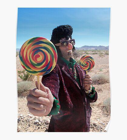 Lollipop Rocker Poster