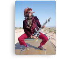 Rockin Air Guitar Canvas Print