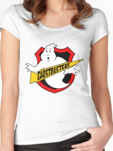 Ghost Busters Redux Women's Fitted Scoop T-Shirt