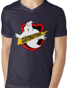 Ghost Busters Redux Mens V-Neck T-Shirt