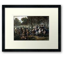 Life Of George Washington -- The Soldier Framed Print