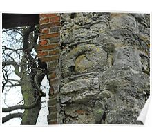 Dinton Castle Ammonite Aylesbury West Buckinghamshire UK Poster