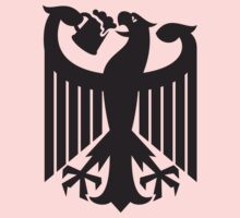 Germany coat of arms eagle beer  Kids Clothes
