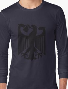Germany coat of arms eagle beer  Long Sleeve T-Shirt
