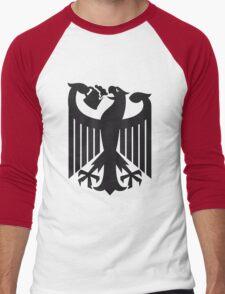 Germany coat of arms eagle beer  Men's Baseball ¾ T-Shirt