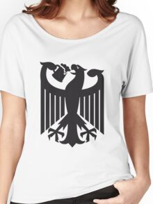 Germany coat of arms eagle beer  Women's Relaxed Fit T-Shirt