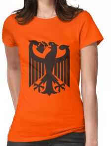 Germany coat of arms eagle beer  Womens Fitted T-Shirt