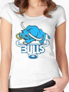 SOUTH AFRICA SEXY SUPER RUGBY BLUE BULLS SUPORTER T SHIRT BRAAI BILTONG Women's Fitted Scoop T-Shirt