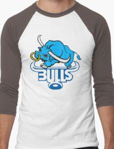 SOUTH AFRICA SEXY SUPER RUGBY BLUE BULLS SUPORTER T SHIRT BRAAI BILTONG Men's Baseball ¾ T-Shirt