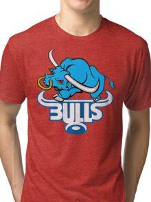 SOUTH AFRICA SEXY SUPER RUGBY BLUE BULLS SUPORTER T SHIRT BRAAI BILTONG Tri-blend T-Shirt