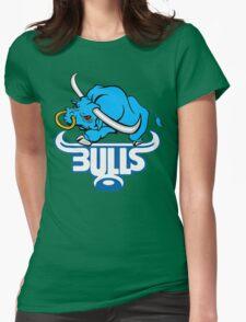 SOUTH AFRICA SEXY SUPER RUGBY BLUE BULLS SUPORTER T SHIRT BRAAI BILTONG Womens Fitted T-Shirt