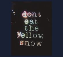 Don't Eat Neon Snow by Mimi Robinson