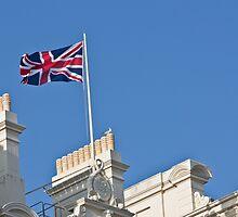 Union Jack Flag by Dawn OConnor