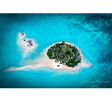Island Flying  Photographic Print