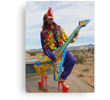 Punk Clown Canvas Print