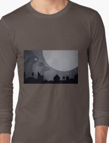 Monster Bunnies are coming! by Aglaia Mortcheva Long Sleeve T-Shirt
