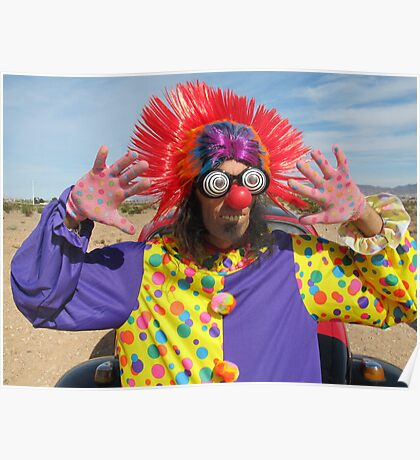 Clown Punk Poster