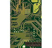 Funny Nerdy Computer Motherboard Photographic Print
