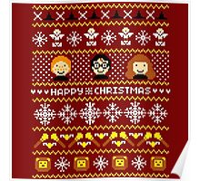 Harry Potter - Happy Christmas Poster
