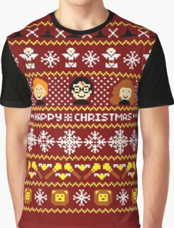 Harry Potter - Happy Christmas Graphic T-Shirt