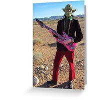 Yoda Rock Greeting Card