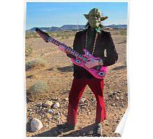 Yoda Rock Poster