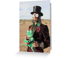 Top Hat Man Greeting Card