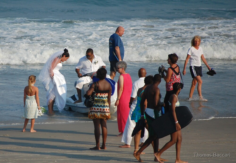 Beach Wedding by TJ Baccari Photography