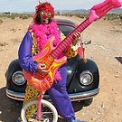 Clown, Unicycle & Guitar by jollykangaroo