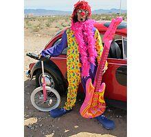 Beetle Punk Clown Photographic Print