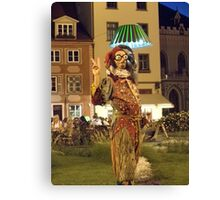 Jester Surreal Canvas Print