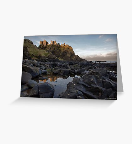 Dunluce Castle Greeting Card