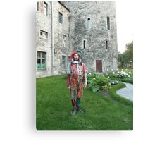 Jester in Estonia Canvas Print